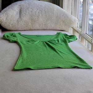 Michael Stars Green Shine Short Sleeve T-shirt